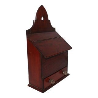 Early 19th Century Wall Box from Pennsylvania For Sale