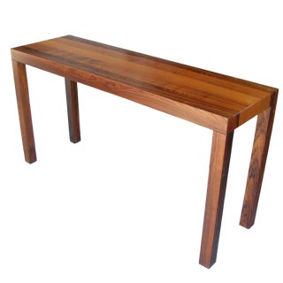 Vintage Mid-Century Danish Parson Rosewood Console Table For Sale