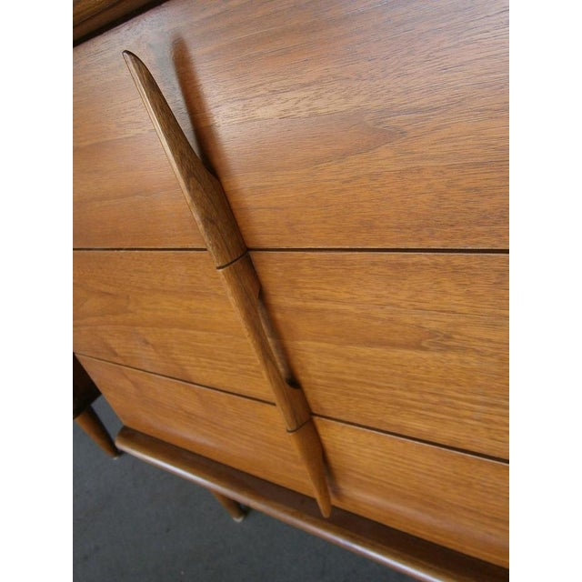 Mahogany Bedside Chests - A Pair - Image 5 of 7