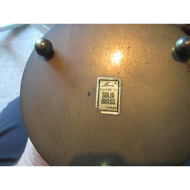 Mid-Century Modern Mid-Century Modern Brass Hourglass Sand Timer For Sale - Image 3 of 7