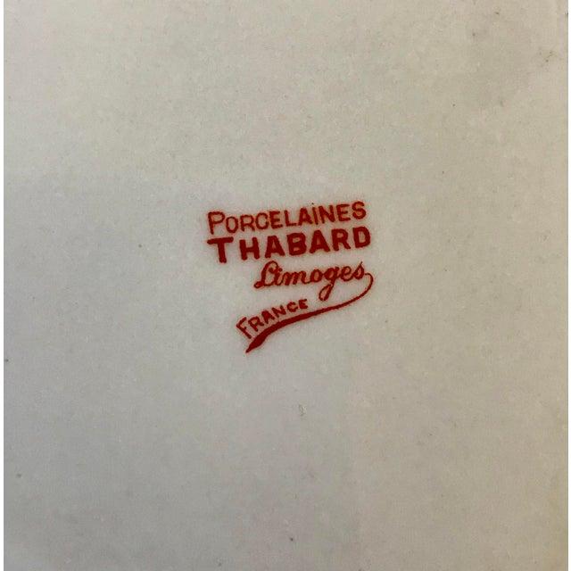"""1960s Limoges France """"Cognac Adet"""" Porcelain Ashtray For Sale - Image 5 of 7"""