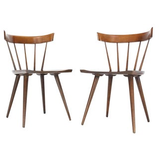 Pair of Paul McCobb Planner Group Dining Chairs Windsor Style For Sale