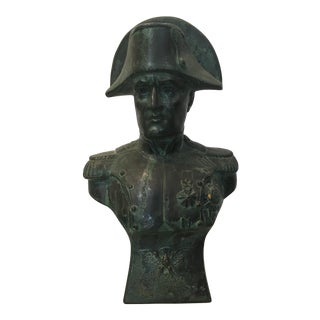Napoléon Hollow Metal Bust