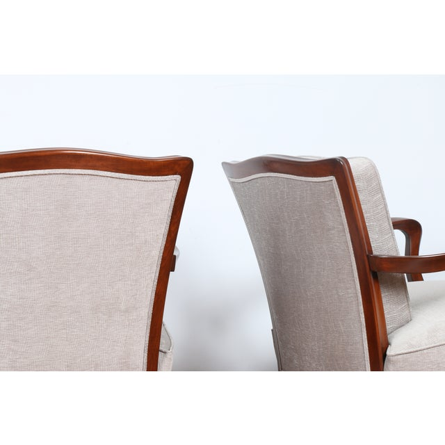 1940's Reupholstered Chair - Pair - Image 9 of 11