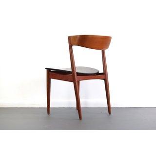 Klein for Bramin Teak Compass Sculpted Desk Chair / Accent Chair Preview