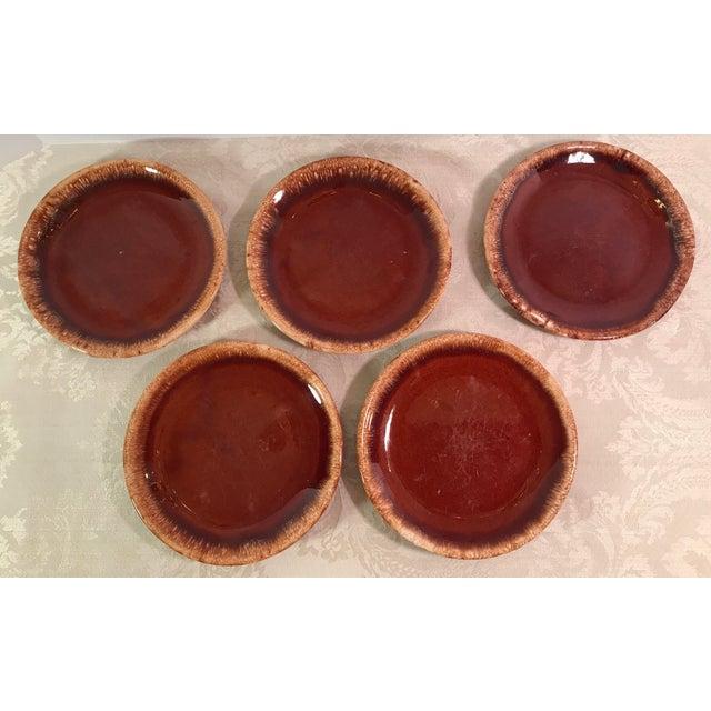 Hull & McCoy Drip Glaze Dishes - Set of 13 - Image 6 of 11