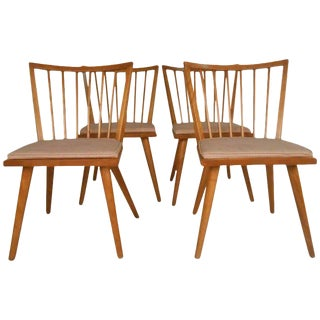 Leslie Diamond for Conant-Ball Mid-Century Chairs - Set of 4 For Sale