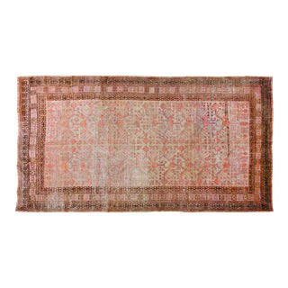 "Antique Khotan Rug,6'x11'2"" For Sale"