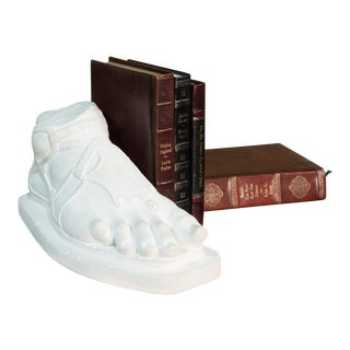 Sarreid Ltd. Neoclassical Spartan Foot Bookend For Sale