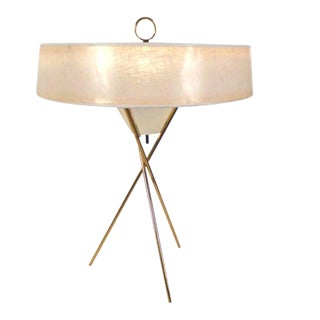 Tripod Table Lamp by Gerald Thurston For Sale