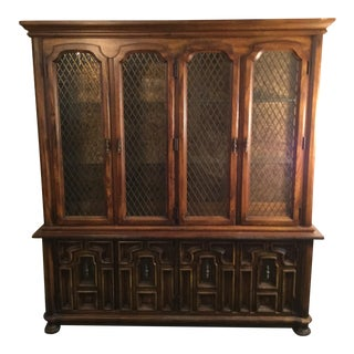 Stanley Furniture China Cabinet For Sale