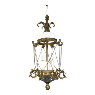 1920s Belle Époque Chandelier For Sale