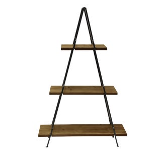 Contemporary Luxor 3 Layer Shelf For Sale