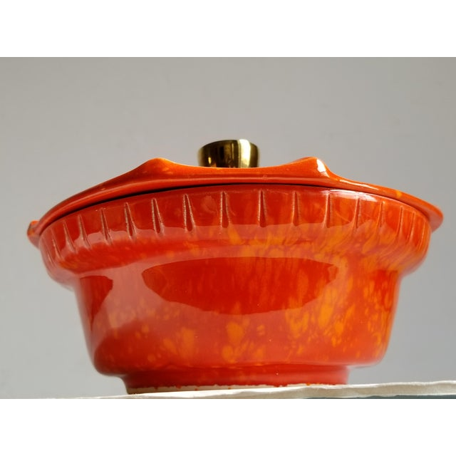 Mid-Century Modern California Pottery Casserole Dish For Sale - Image 4 of 12