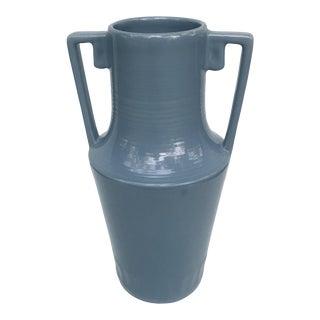 Vintage Abingdon Blue Vase For Sale