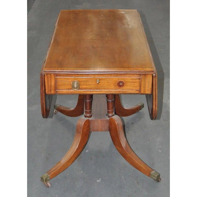 English Traditional 19th Century English Regency Mahogany Breakfast Table C.1815 For Sale - Image 3 of 7
