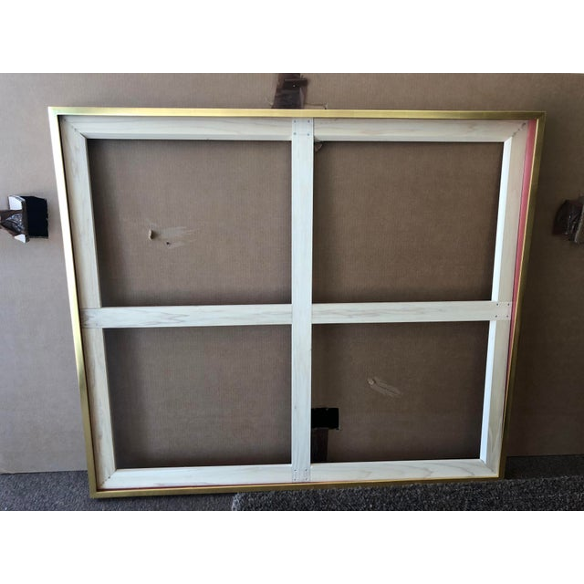 22kt Gold Maple Frame For Sale - Image 4 of 4