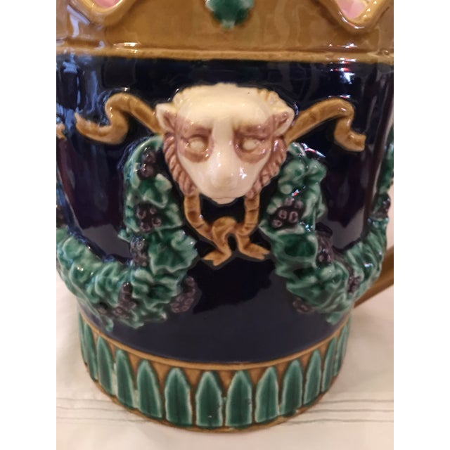 Fitz & Floyd Vintage Water Pitcher - Image 3 of 6