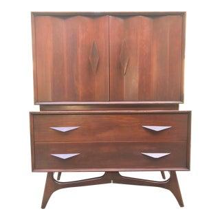 Albert Parvin Style Mid Century Modern Dresser | Credenza