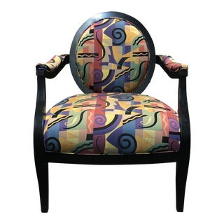 Sam Moore Furniture Bold Accent Chair For Sale