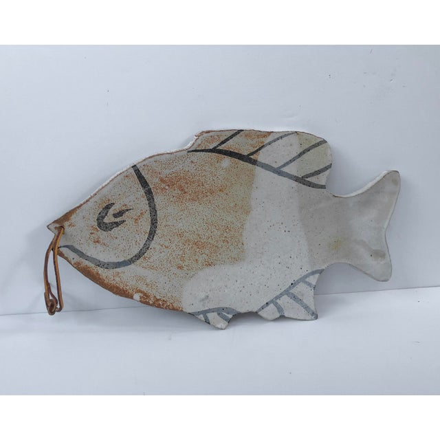 Vintage Pottery Fish Platter - Image 5 of 6