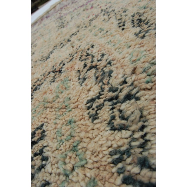 Blue Moroccan Berber Rug For Sale - Image 8 of 9