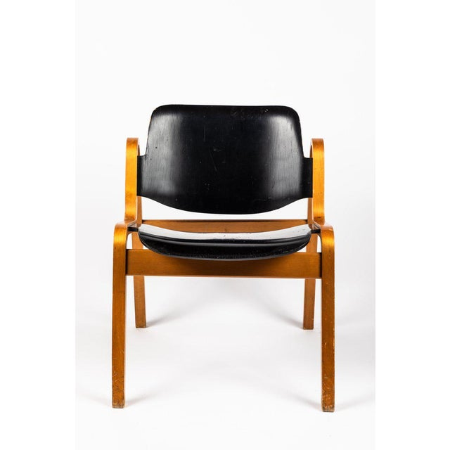 Ilmari Tapiovaara 1950s Vintage Ilmari Tapiovaara 'Wilhelmina' Chair For Sale - Image 4 of 10