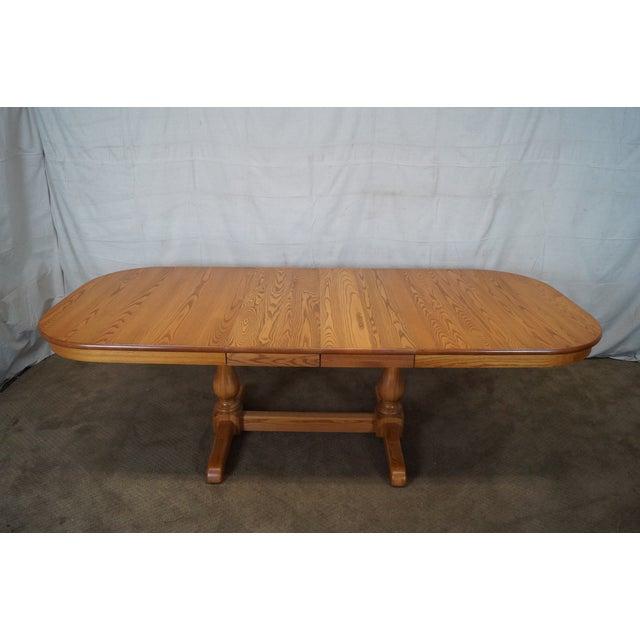 Early American Style Athol Oak Dining Set Chairish