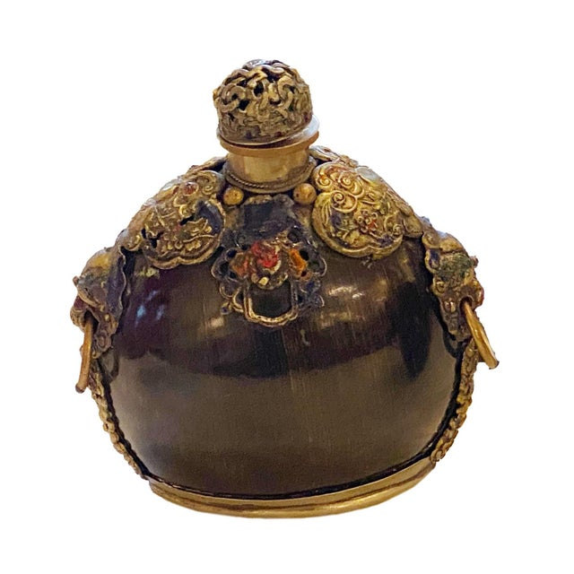 19th Century Moroccan Snuff Bottle For Sale In Dallas - Image 6 of 6