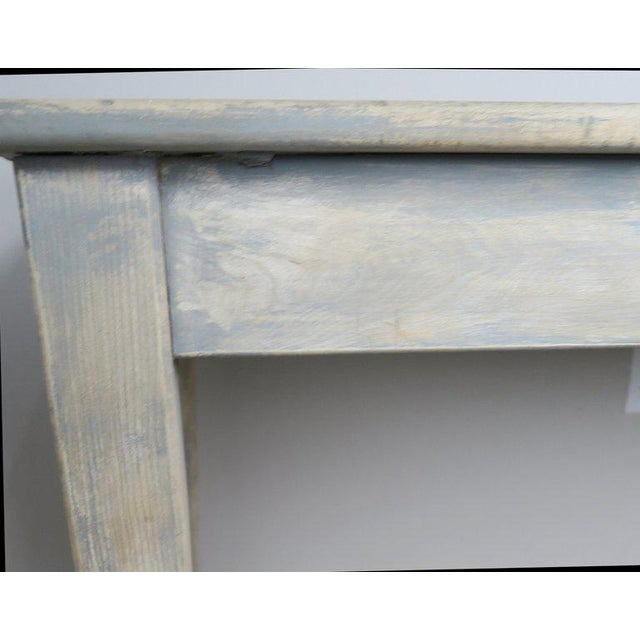 Mid-Century Modern Swedish Painted Farm Table, Circa 1900 For Sale - Image 3 of 11