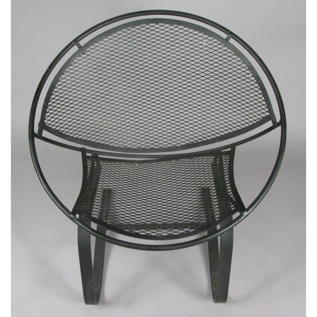 Wrought Iron Radar Lounge Chairs by Salterini, Circa 1950 - a Pair For Sale In New York - Image 6 of 8