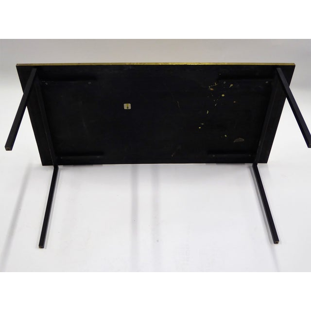 Raymor MidCentury Modern Raymor Scandinavian Repousse Brass Coffee Table 1960s For Sale - Image 4 of 13