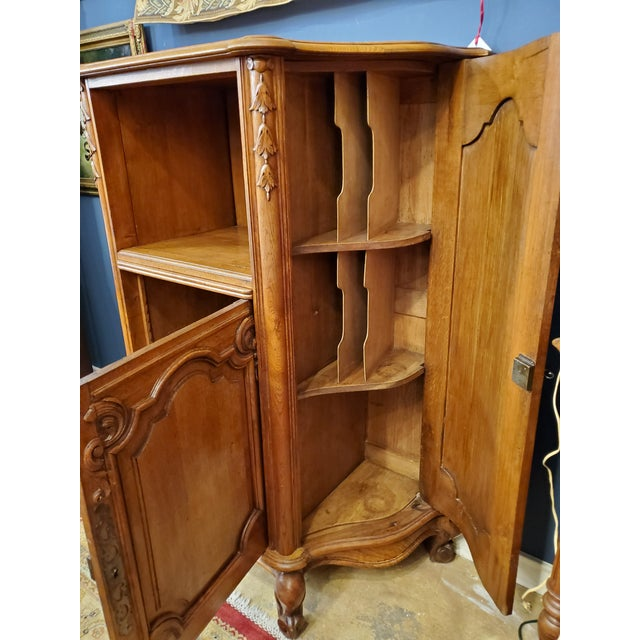 Early 20th Century Antique French Filing Cabinet For Sale - Image 9 of 13