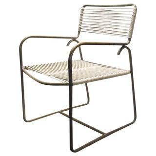 One Walter Lamb for Brown Jordan Outdoor Indoor Dining Chair For Sale