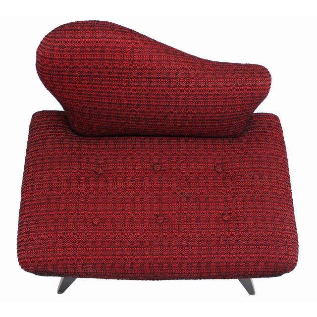 Mid-Century Modern Pair of Fireside Slipper Chairs Fire Bird Shape For Sale - Image 3 of 10