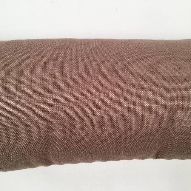 Original Folly Cove Designers Hand Block Printed Clover Pillow - Image 7 of 9