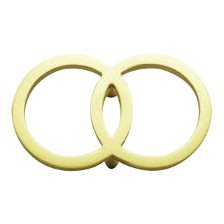 Diana Pull -Satin Brass For Sale