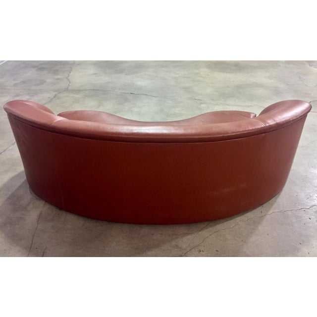 Vladimir Kagan Vladimir Kagan Biomorphic Kidney Bean Shaped Sofa For Sale - Image 4 of 9
