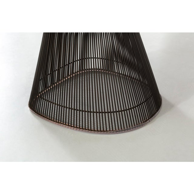 Set of Mid-Century Modern Bronze Platner Lounge Chairs for Knoll For Sale - Image 12 of 13