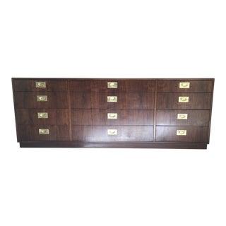 Founders Furniture MCM Walnut Dresser For Sale
