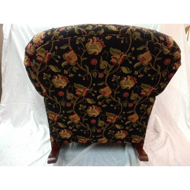 Early 20th Century Overstuffed Rocker For Sale - Image 4 of 10