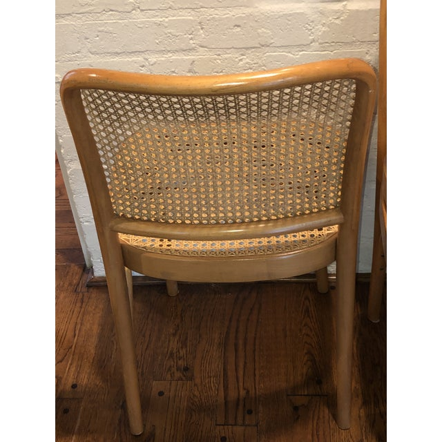 Thonet Josef Hoffmann Thonet Prague Side Chairs- a Set of Four For Sale - Image 4 of 11