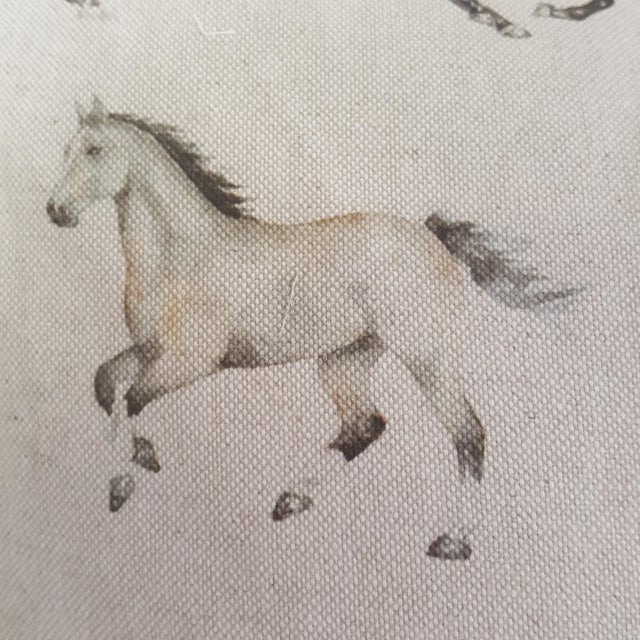 Horses Accent Pillow For Sale - Image 10 of 13