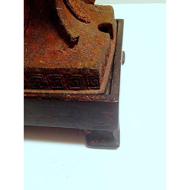 Qing Dynasty Iron Gu Vase Lamps - Pair - Image 11 of 11