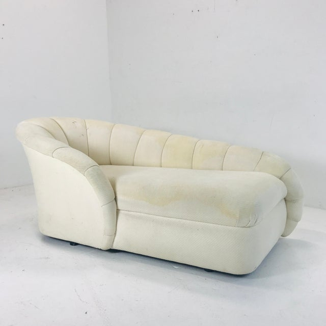 Directional MCM Channel Chaise by Directional For Sale - Image 4 of 12