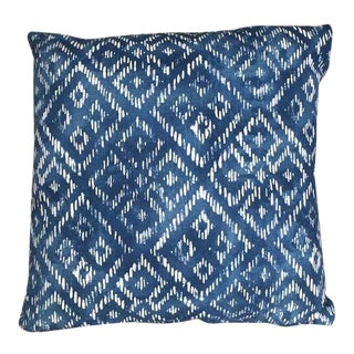 Kim Salmela Indigo Pillow For Sale