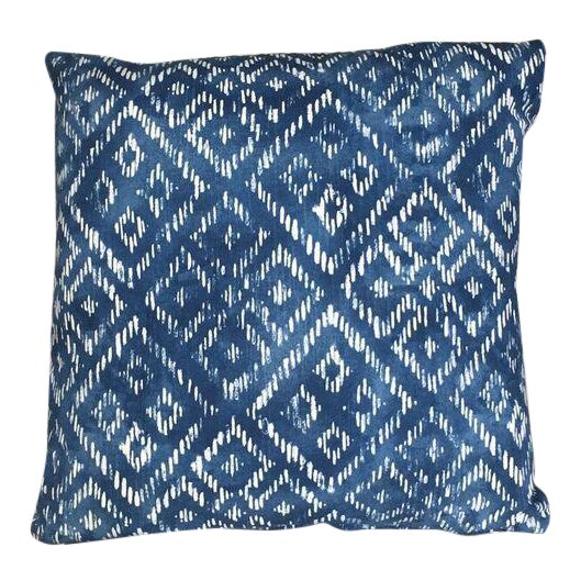 Kim Salmela Indigo Pillow - Image 1 of 3