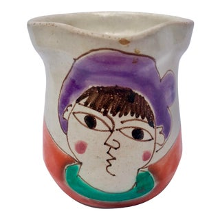 1964 Desimone Pottery Creamer For Sale