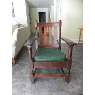 Vintage Charles Limbert Mission Chair Preview