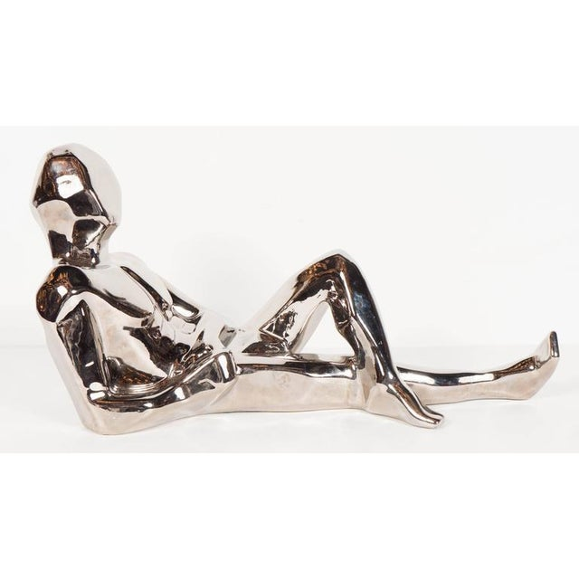 Mid-Century Modern Rare Mid-Century Modernist Figurative Ceramic Sculpture by Jaru For Sale - Image 3 of 9